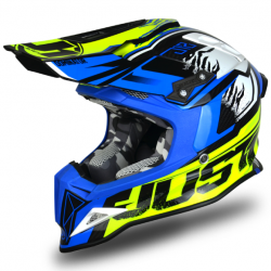 Casque cross JUST1 J32 Dominator Bleu