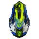 Casque cross JUST1 J32 Dominator Bleu