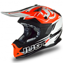 Casque cross JUST1 J32 Pro Rave Noir / Orange