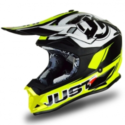Casque cross JUST1 J32 Pro Rave Jaune