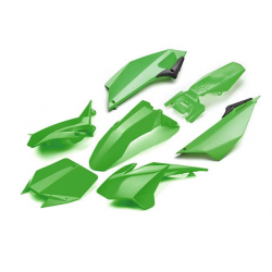 KIT PLASTIQUE COMPLET YCF vert 2016