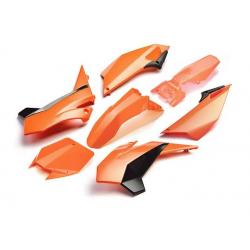 YCF KIT PLASTIQUE COMPLET FACTORY 2017 orange