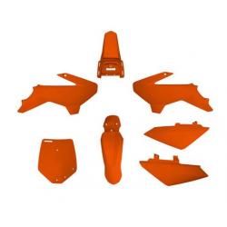 YCF KIT PLASTIQUE YCF 50A orange