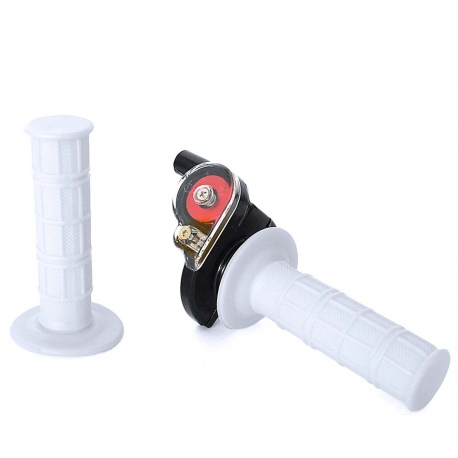 Poignée tirage rapide + poignée Blanc