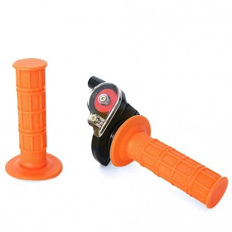 Poignée tirage rapide + poignée Orange