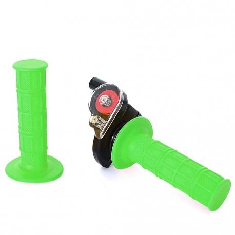 Poignée tirage rapide + poignée Vert