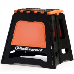 Repose moto pliable Polisport - Noir / Orange