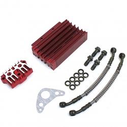 Kit Radiateur CNC Complet Rouge
