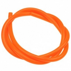 Durite d'essence Orange fluo 1m - Victoria Bull