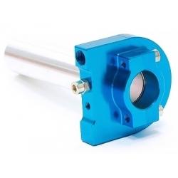 Poignée de gaz CNC - Bleu