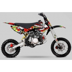 Kit deco CRF70 - Freegun Evil