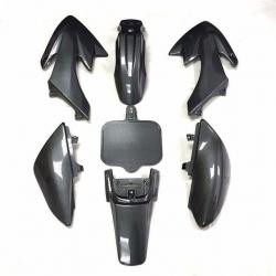Kit plastique CRF50 - Carbone