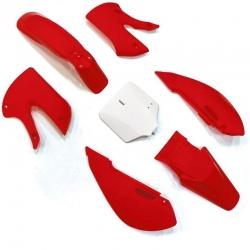 Kit plastique KLX - Rouge