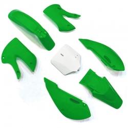 Kit plastique KLX - Vert