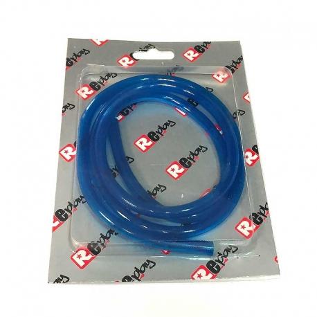 Durite d'essence 1m Bleu transparent - Replay