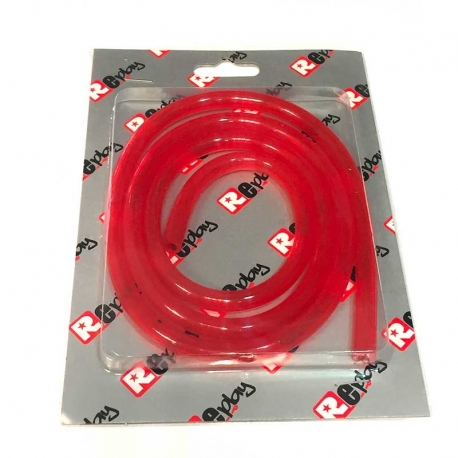 Durite d'essence 1m Rouge transparent - Replay