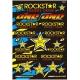 Planche autocollant - one industrie rockstar