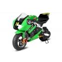 Pocket bike course Racing Vert - 49cc