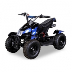 "Pocket quad Cobra Maxi 6"" E-Start - Bleu"