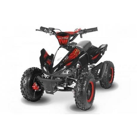 "Pocket quad Speedy 6"" E-Start - Rouge"