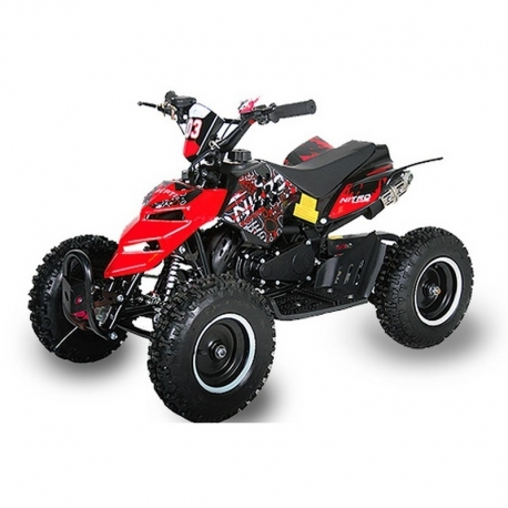 "Pocket quad Raptor 6"" E-Start - Rouge"
