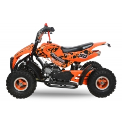 "Pocket quad Dragon 4"" - Orange"
