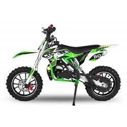 Pocket cross Gazelle Sport 49cc E-Start - Vert