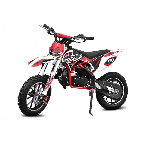 Pocket cross Gazelle Sport 49cc E-Start - Rouge