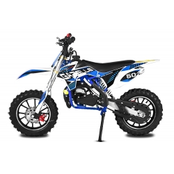 Pocket cross Gazelle Sport 49cc E-Start - Bleu