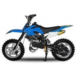 Pocket cross Apollo 49cc E-Start - Bleu