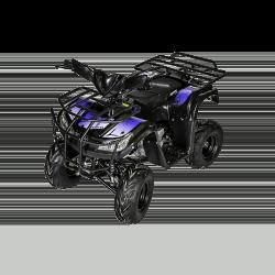 Quad Hummer 110cc - Bleu (Marche arrière)