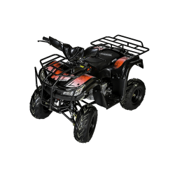 Quad Hummer 110cc - Rouge (Marche arrière)
