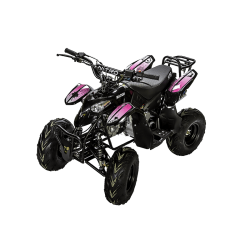 Quad Razer 125cc - Rose (Marche arrière)