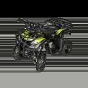 Quad Hummer RG 125cc - Jaune (Marche arrière)