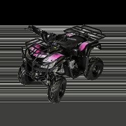 Quad Hummer RG 125cc - Rose (Marche arrière)