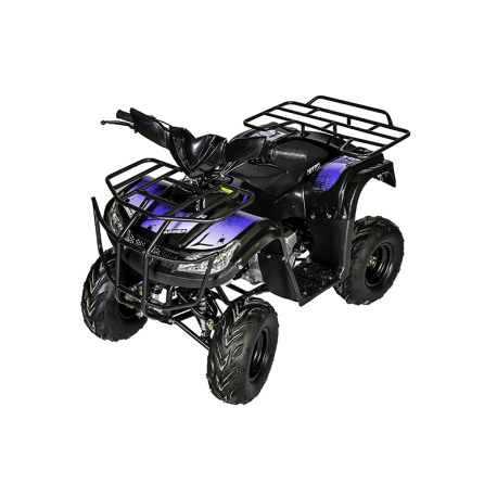 Quad Hummer RG 125cc - Bleu (Marche arrière)