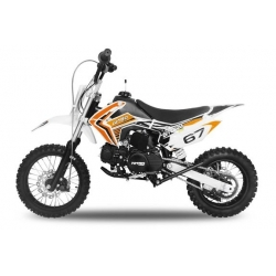 Dirt bike STORM 110cc -  Semi-Automatique Orange
