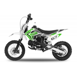 Dirt bike STORM 110cc -  Semi-Automatique Vert