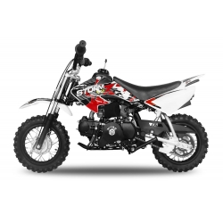 Dirt bike STORM 70cc -  Automatique Rouge