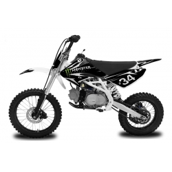 Dirt bike Monster 125cc - Grande Roue