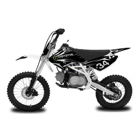 Dirt bike Monster 125cc - Grande Roue