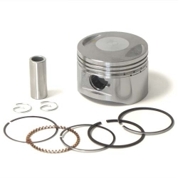 Piston / Segments 125cc - ø54 x ø14mm Dirt bike / Pit bike / Mini moto