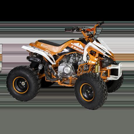 """Quad X Race 125cc 8"""" - X-R Orange (Marche arrière)"""