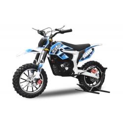 Mini Moto électrique Gepard 24V / 500W - Bleu
