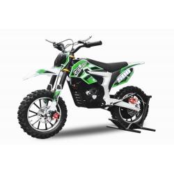 Mini Moto électrique Gepard 24V / 500W - Vert