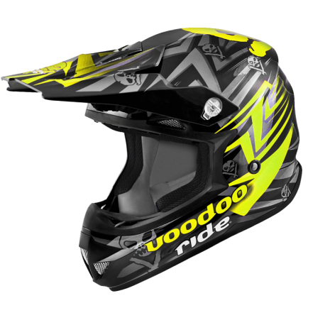 Casque Cross Voodoo Ride Pro Icon SC15