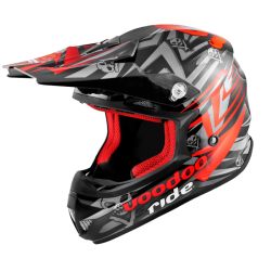 Casque Cross Voodoo Ride Pro Icon Red SC15