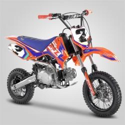 "Pit bike Apollo RFZ Rookie 110cc semi-auto 10""/12"" 2020 - Orange"