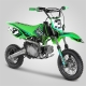 "Pit bike Apollo RFZ Rookie 110cc semi-auto 10""/12"" 2020 - Vert"