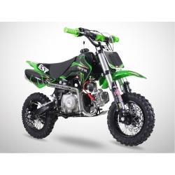 Dirt bike GunShot 88cc - Edition Monster - Vert 2018